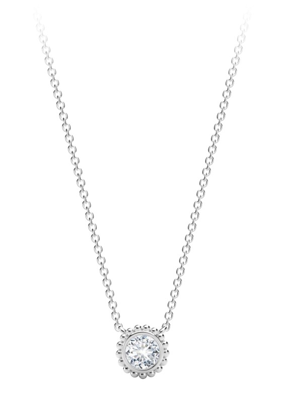 c143d0507f9 Diamond Necklaces - The Forevermark Tribute™ Collection Diamond Necklace  with .31cttw round diamonds