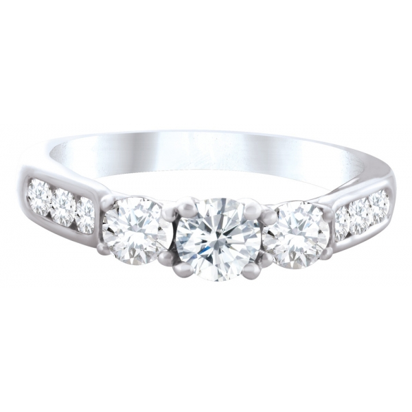 3 classic engagement ring sets