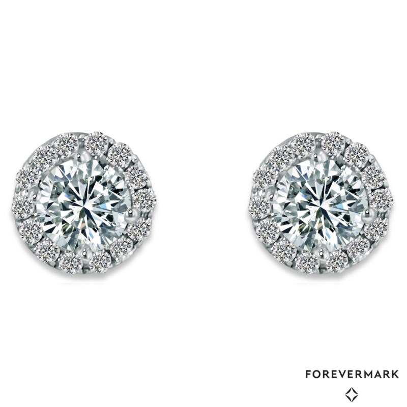 Forevermark Center of My Universe Eternal Studs by Forevermark Jewelry