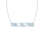 White Gold Necklace by Midas