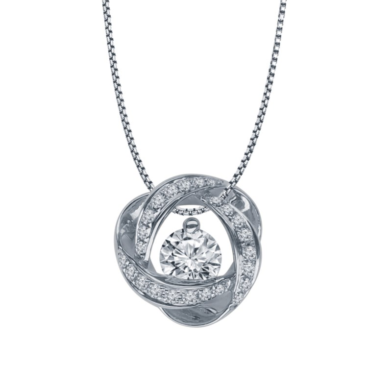 SVS Signature 89© Time & Eternity Diamond Necklace by The SVS Signature 89 Diamond Collection
