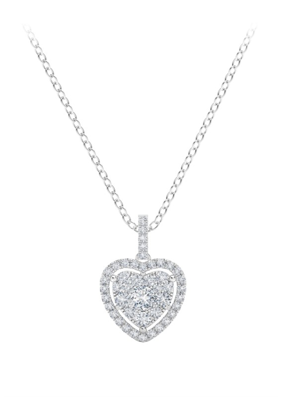 Forevermark Diamond Heart Necklace by Forevermark Jewelry