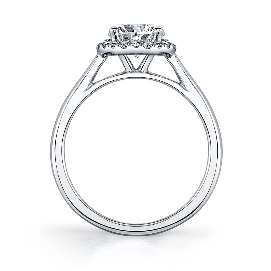 Sylvie Halo Engagement Ring by Sylvie Engagement Rings
