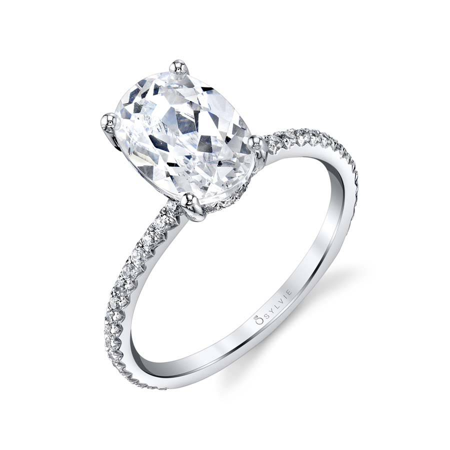 Sylvie Classic Diamond Engagement Ring by Sylvie Engagement Rings