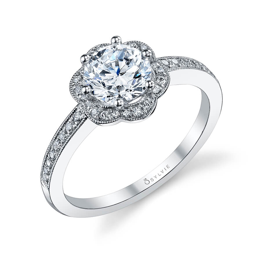 Sylvie Lilianne Engagement Ring by Sylvie Engagement Rings