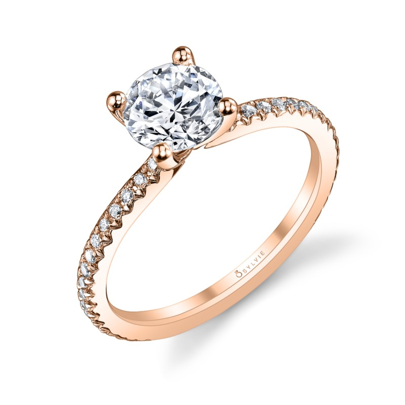 Sylvie Doriane Engagement Ring by Sylvie Engagement Rings