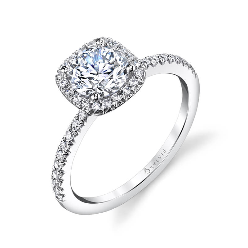 Sylvie Camilla Engagement Ring by Sylvie Engagement Rings