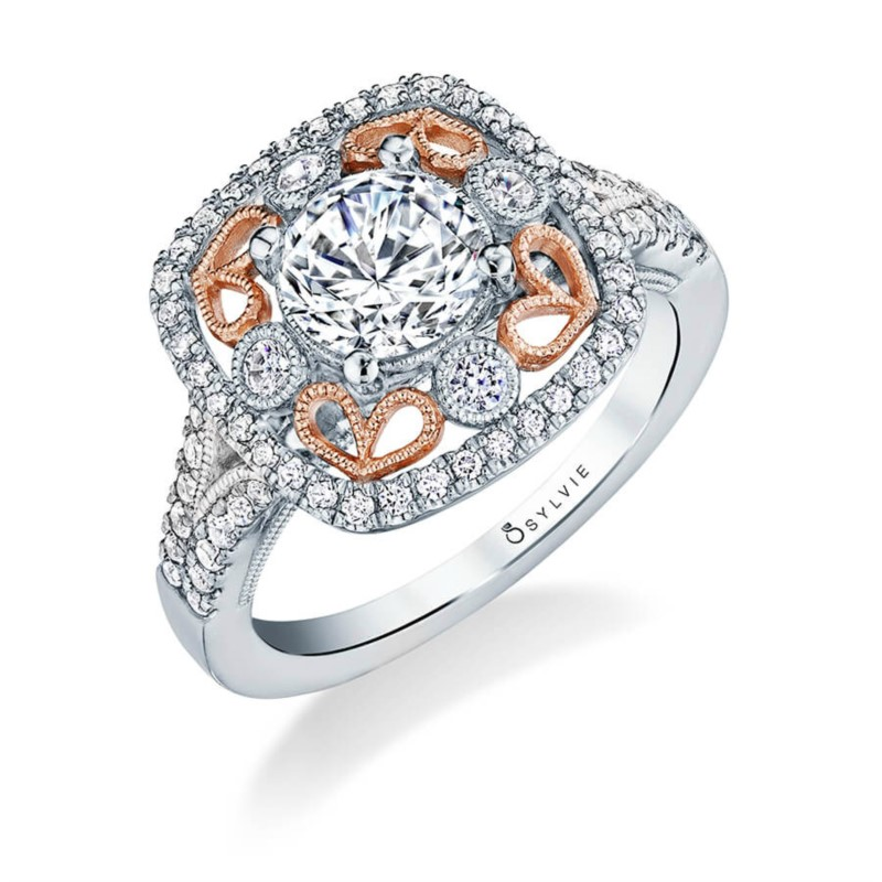 Sylvie Elita Engagement Ring by Sylvie Engagement Rings
