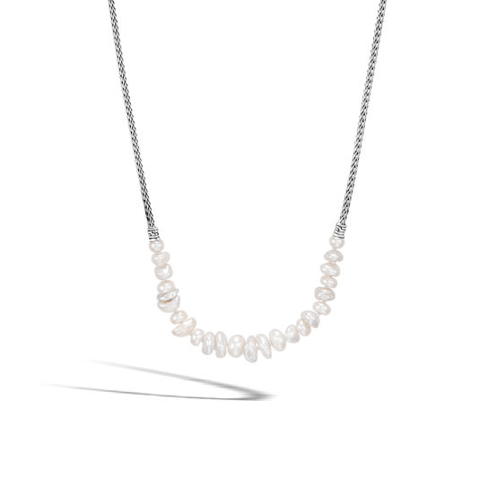 John Hardy Chain Collection Pearl Necklace by John Hardy