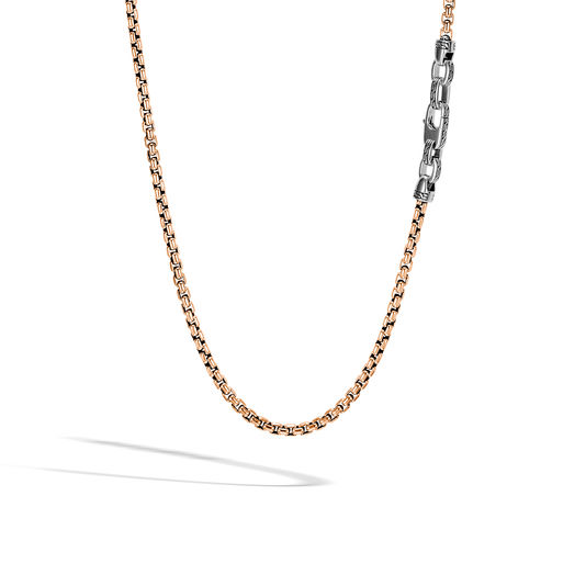 John Hardy Chain Collection Box Chain Necklace by John Hardy