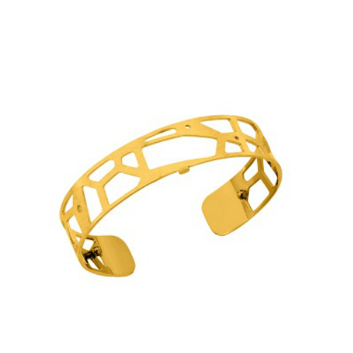 Les Georgettes Giraffe Cuff - Matte Gold Plated, Small 14 mm by Les Georgettes