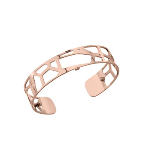 Les Georgettes Giraffe Cuff - Rose Gold Plated, Small 14 mm by Les Georgettes