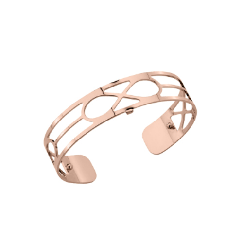 Les Georgettes Infini Cuff - Rose Gold Plated, Small 14 mm by Les Georgettes
