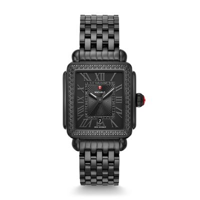 Michele Watch Deco Madison Noir by Michele Watch