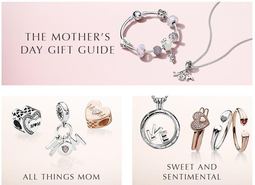 8dfe0cbebf590 Pandora Mothers Day Gifts 2018