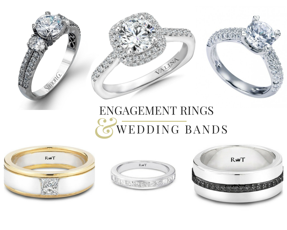 Engagement Ring and Wedding Band Sale