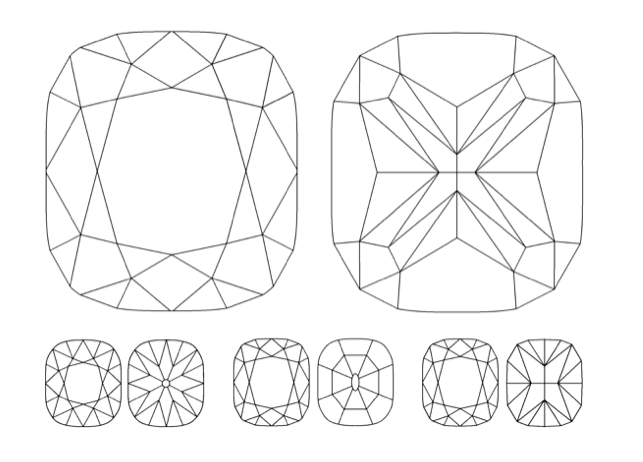Diamond Cut Drawing